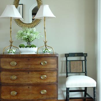 Vintage Chest, Cottage, entrance/foyer, Morrison Fairfax Interiors