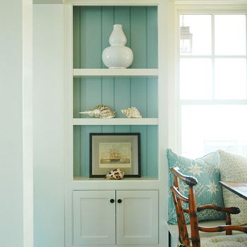 Cottage Dining Room Built Ins By Morrison Fairfax Interiors