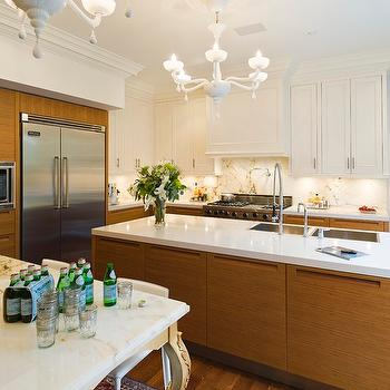 Modern Veneer Kitchen Cabinets, Eclectic, kitchen, Taylor Hannah Architect