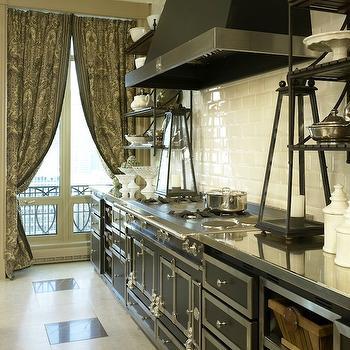 French Kitchen Hoods Design Ideas