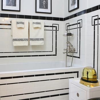 Art Deco Bathroom, French, bathroom, Jessica Lagrange Interiors