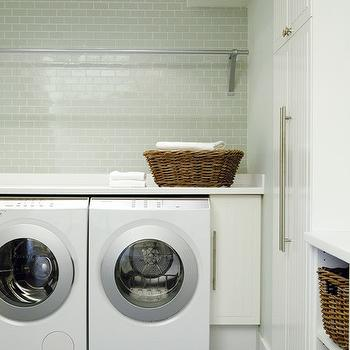 Miele Washer and Dryer, Contemporary, laundry room, House & Home