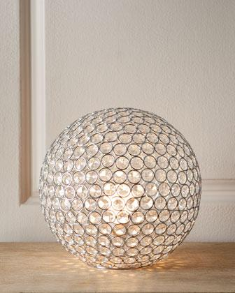 Bosley Crystal Ball Lamp Neiman Marcus