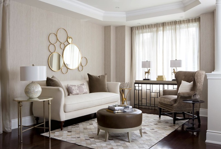 Neutral Palette Living Room - Contemporary - living room - Toronto ...