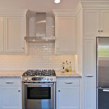 Kitchen Backsplash Beveled Subway Tile all white subway tile kitchen backsplash design ideas