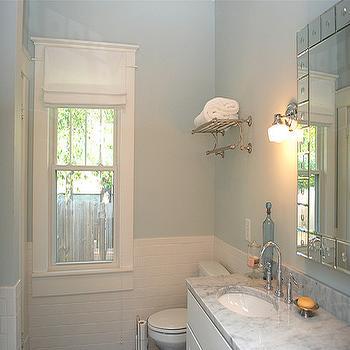Ballard Designs Mirror Transitional Bathroom
