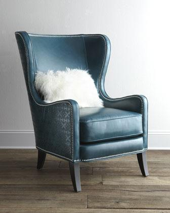 'Glenmore' Wing Chair - Neiman Marcus