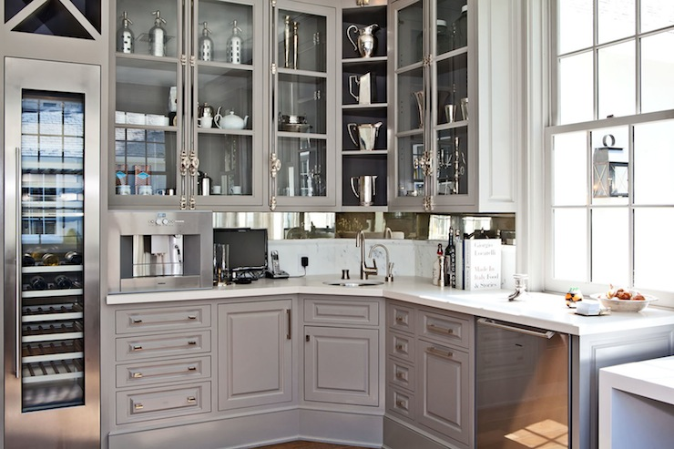 European Kitchen Transitional Kitchen Benjamin Moore