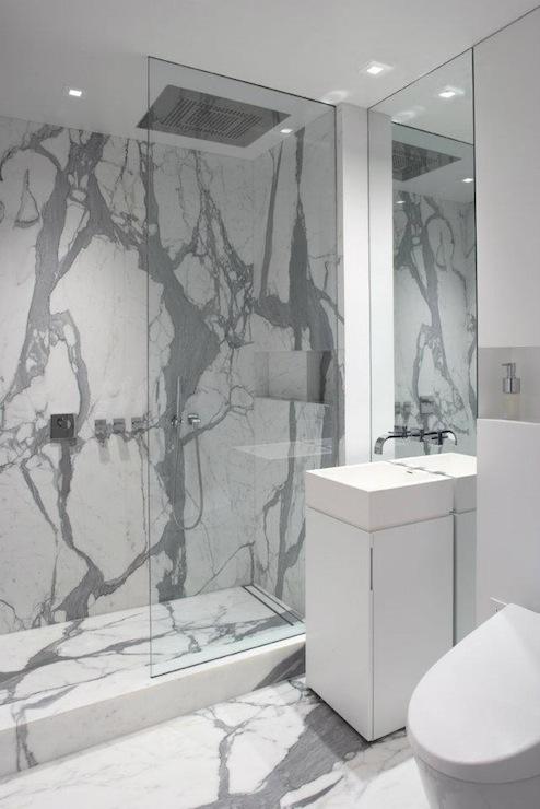 Small Shower Design Transitional Bathroom Bhg