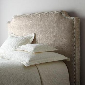 burlap headboard with nailheads  target, Headboard designs