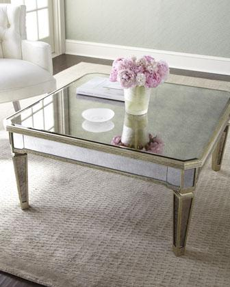Abeille Silver Coffe Table