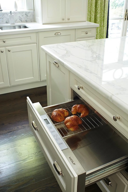 KItchen Island Warming Drawer - Transitional - kitchen ...