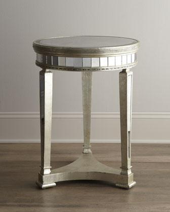 U0027Amelieu0027 Mirrored Lamp Table   Neiman Marcus