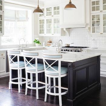Two-Tone Kitchen, Transitional, kitchen, Anne Hepfer Designs