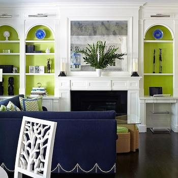 Built In Cabinets, Contemporary, living room, Anne Hepfer Designs