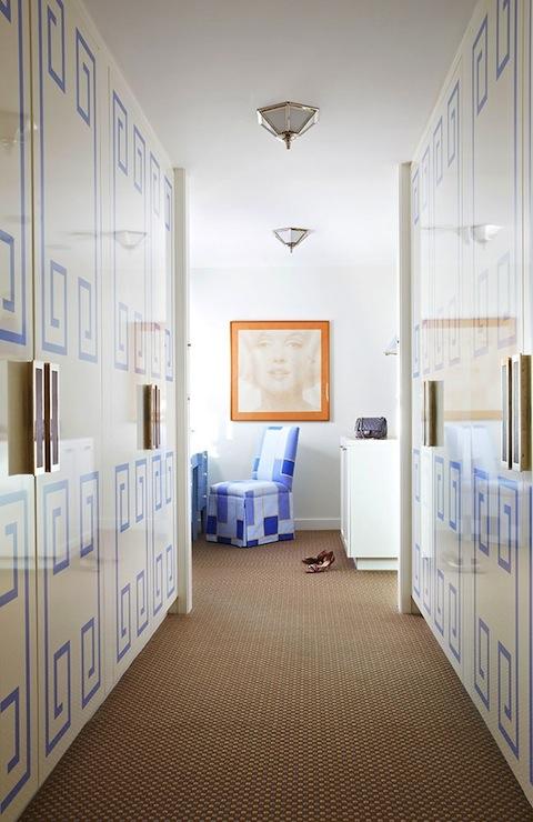 Luxury Closets Contemporary Closet Anne Hepfer Designs