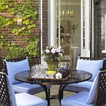 Chic Patios, French, deck/patio, Anne Hepfer Designs