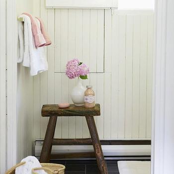 Shabby Chic Bathroom, Cottage, bathroom, Anne Hepfer Designs