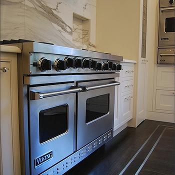 Calcutta Gold Marble Backsplash, Contemporary, kitchen, New England Stone