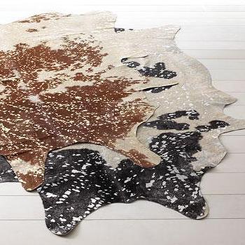 'Speckles' Cowhide Rug, Neiman Marcus
