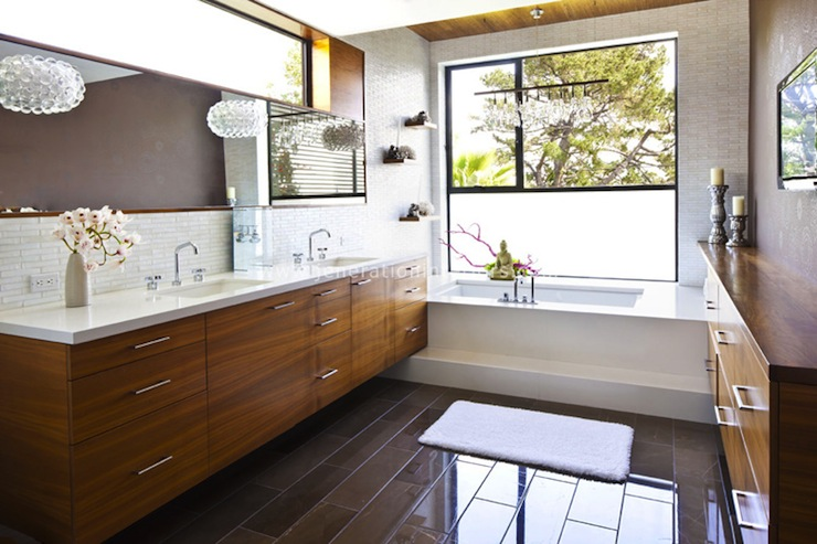 Zen Bathroom Ideas - Eclectic - bathroom - S.R. Gambrel