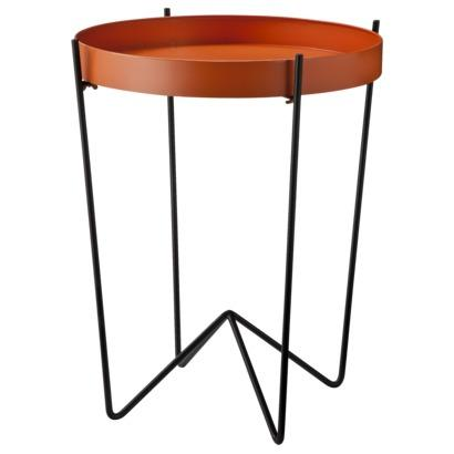 Accent Table, Orange Round Metal   Target