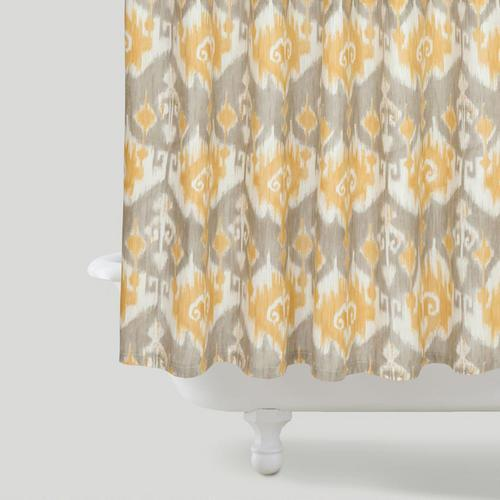Ikat Shower Curtain World Market Threshold Ikat Shower Curtain