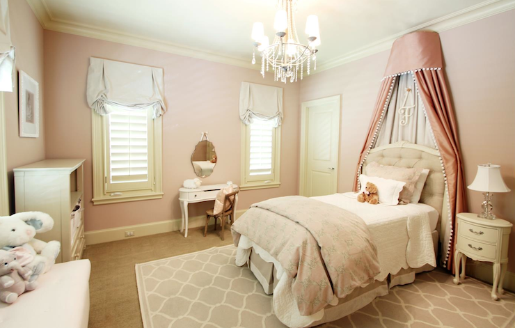 Pink Princess Bedroom - Traditional - girl\'s room - Marie ...