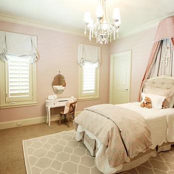 Pink Princess Bedroom, Traditional, girl's room, Marie Flanigan Interiors