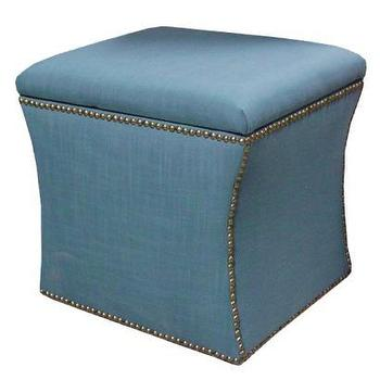 Accent Furniture Storage Ottoman Linen Target
