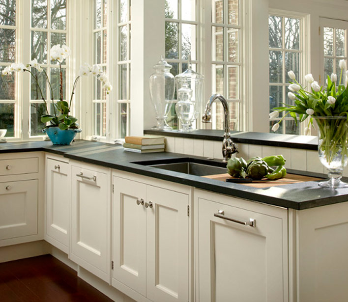 amazing ivory kitchen design with cream shaker kitchen cabinets paired