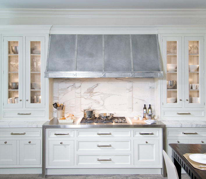 Marble Backsplash Traditional Kitchen OBrien Harris