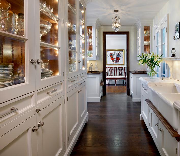 Galley Kitchen Oak Cabinets: O'Brien Harris