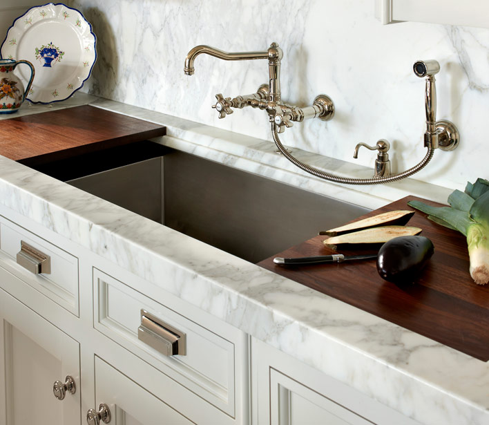 Wall Mount Vintage Kitchen Faucet Design Ideas | (title} | vintage kitchen sink faucets