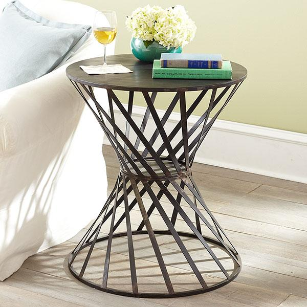 Twisted Drum Table Side Tables Amp Pedestals Wisteria