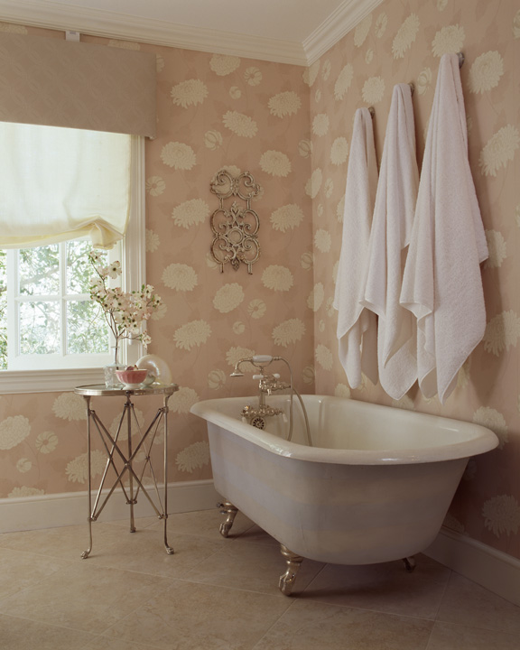 Clawfoot Tub - Cottage - bathroom - Coddington Design