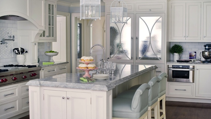 Cream KItchen Cabinets Transitional Kitchen Morgan Harrison Home - Cream and gray kitchens
