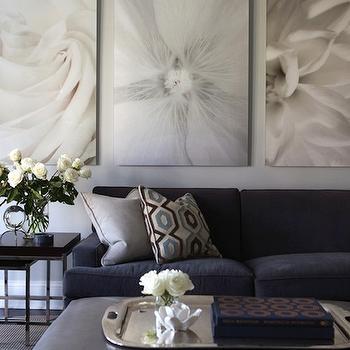 Blue Living Rooms, Contemporary, living room, Morgan Harrison Home