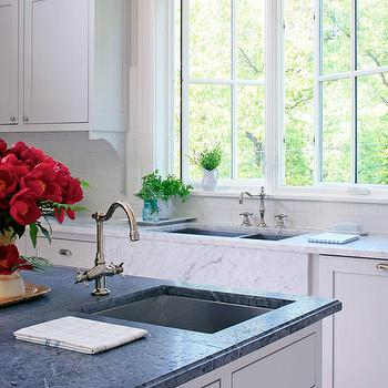 faucet sinks prep waterstone hundreds kitchens farmhouse of copper with in installed photos faucets sink photo bar gallery