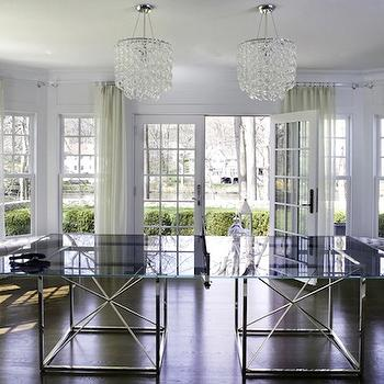 Giogali Chandelier, Contemporary, media room, Morgan Harrison Home