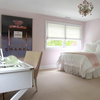 Pink Girl's Bedroom, Traditional, girl's room, Morgan Harrison Home