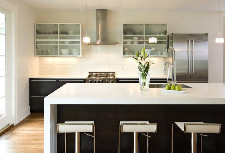 Modern Kitchen Cabinets Modern Kitchen W B Builders