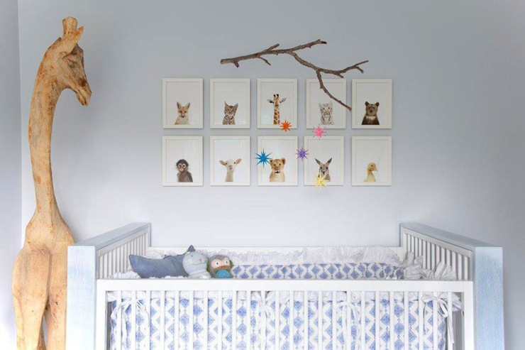 Nursery Daybed Contemporary Nursery Benjamin Moore