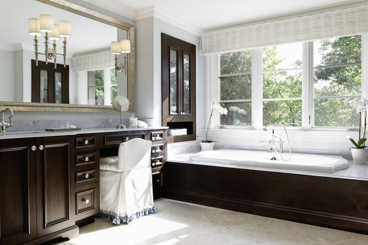 Mahogany Bathroom Vanity Design Ideas