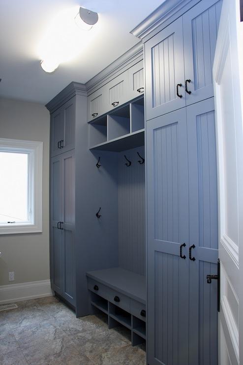 Mudroom Ideas Transitional Laundry Room John B
