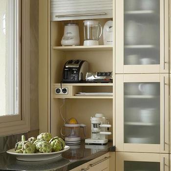 Tan KItchen Cabinets, Contemporary, kitchen, Caden Design Group