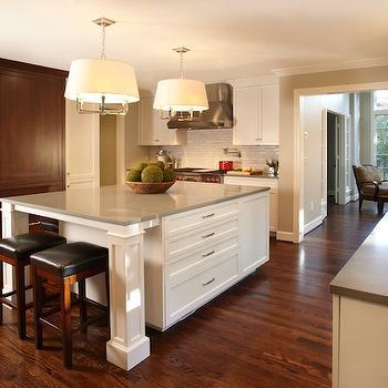 Gray Countertops, Traditional, kitchen, Caden Design Group