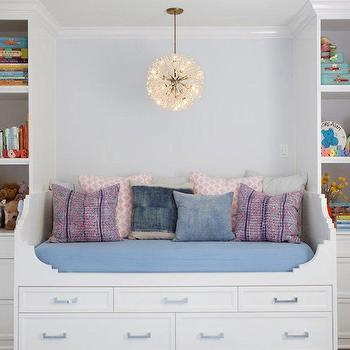 Built In Daybed, Contemporary, nursery, Kishani Perera