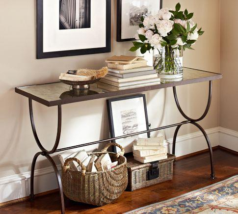 Othello IronMirror Console Table I Bliss Home And Design