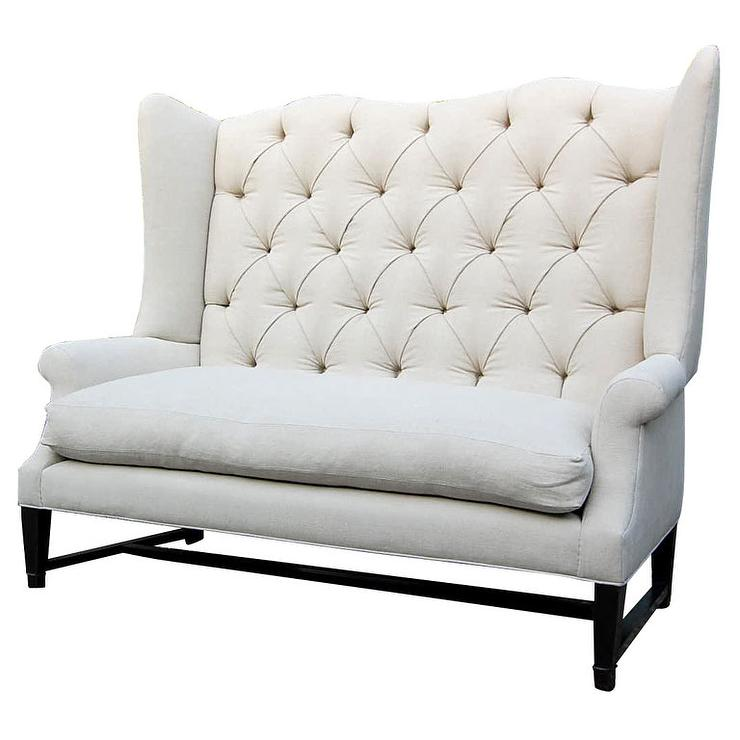 1st Dibs Wing Back Sofa Look 4 Less